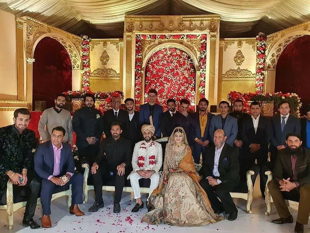 Pakistan Cricket Team Player Attended The Wedding Function Of Wahab Riaz's Sister