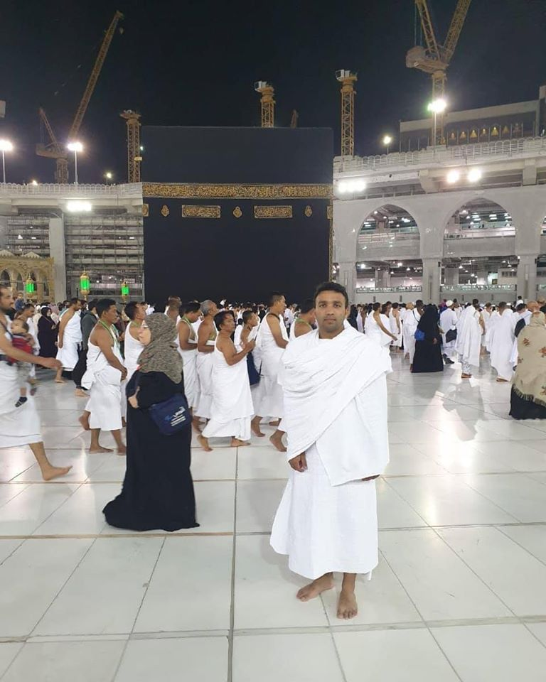 Pakistan Cricket Team Player Sami Aslam Performing Umrah