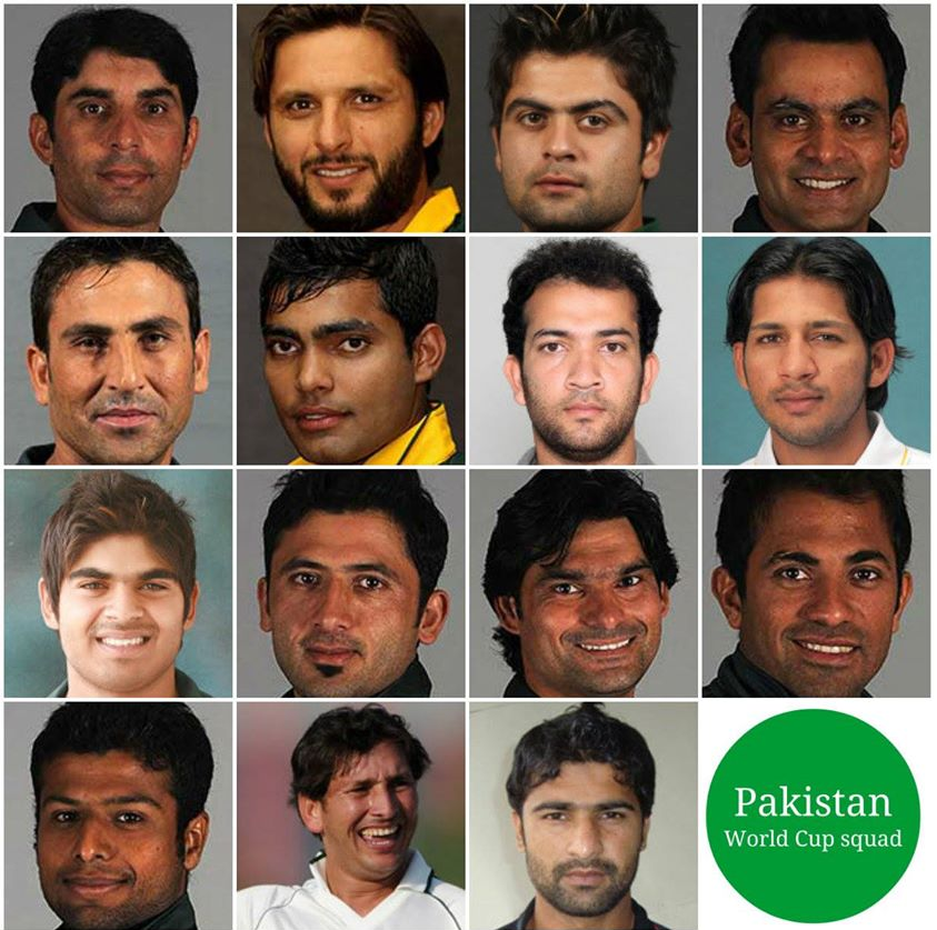 Pakistan Cricket Team Squad For World Cup 2015