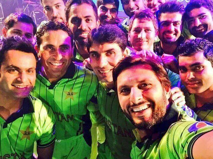 Pakistan Cricket team Kit For World Cup 2015 Official Inauguration