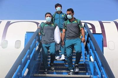 Pakistan Team Arrived West Indies