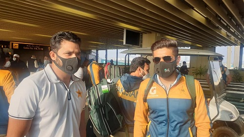 Pakistan Team Arrives In Karachi To Play 1st Test Against South Africa