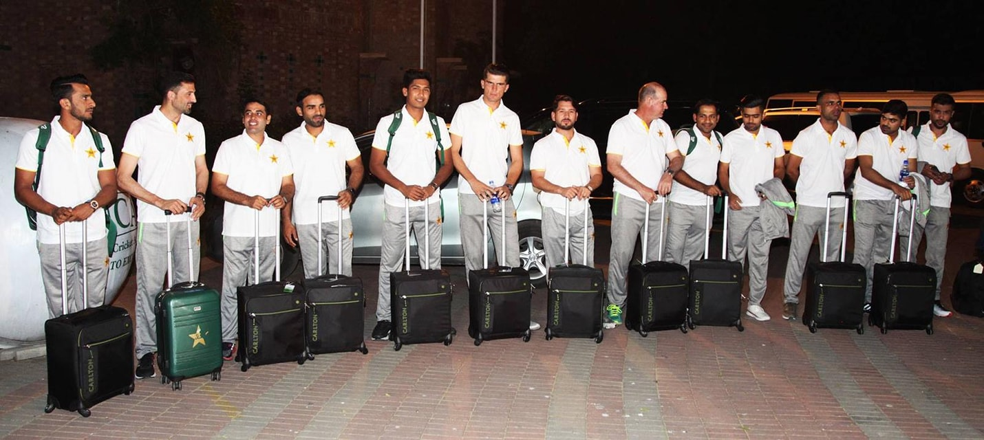 Pakistan Team Departure For England