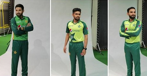 Pakistan Team Photoshoot Ahead ODI And T20I Series Against South Africa