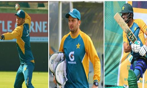 Pakistan Team Practice Session At Super Sports Park, Centurion