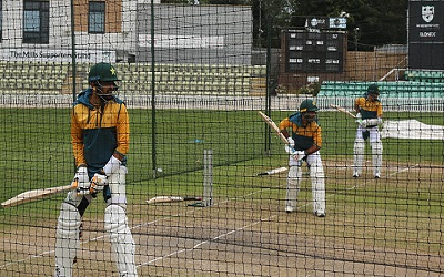 Pakistan Team Training Session In Worcester, England