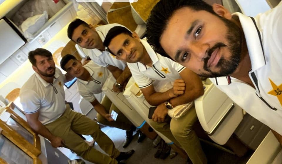 Pakistan Test Team Members Off To Australia Ahead Of Test Series