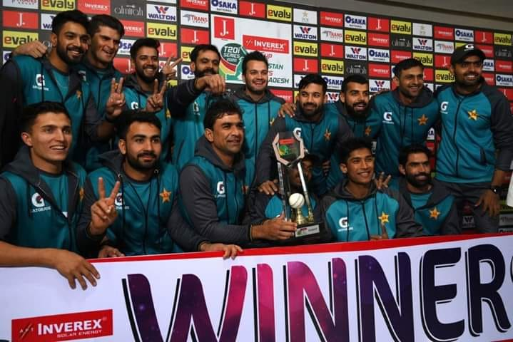 Pakistan Wins The T20 Series Against Bangladesh