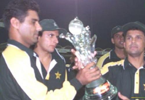 Pakistan Won Coca Cola Cup Under The Captaincy Of Moin Khan