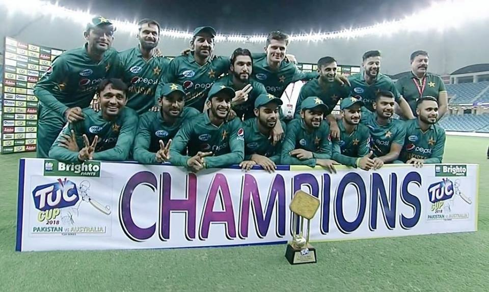 Pakistan Won The T20 Series By 3-0 Against Australia