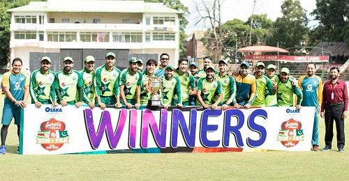 Pakistan Won The T20i Series Against Zimbabwe