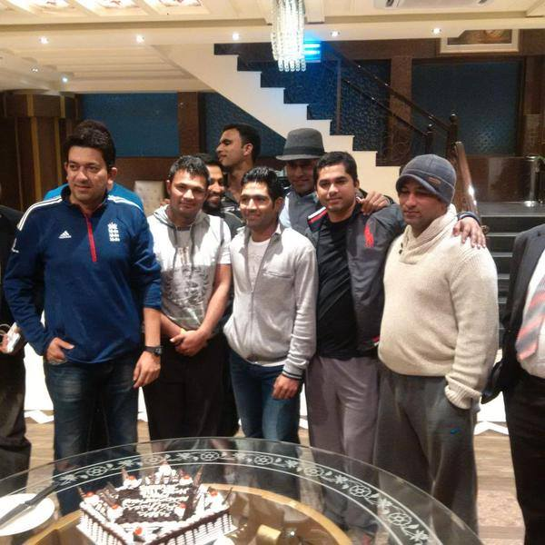 Pakistani Cricket Team Celebrates Asad Shafiq Birthday