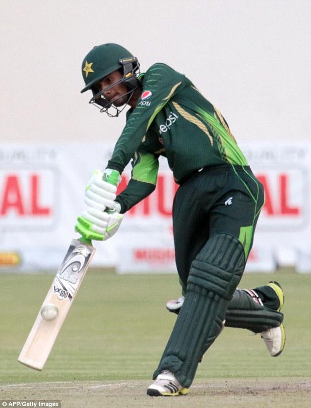 Pakistani Cricketer Aamer Yamin