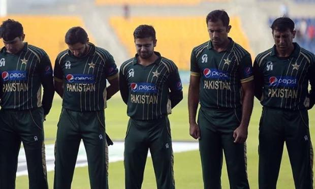 Pakistani Cricketer Maintain Silence On Peshawar Attack Before Starting The Match
