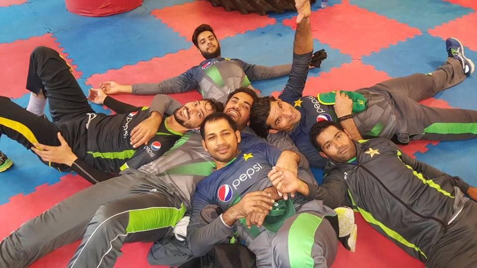 Pakistani Cricketers Looking Pretty Tired After Training