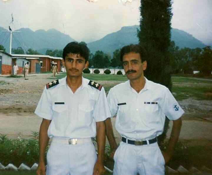 Pakistani Opener Fakhar Zaman In Pak Navy Uniform