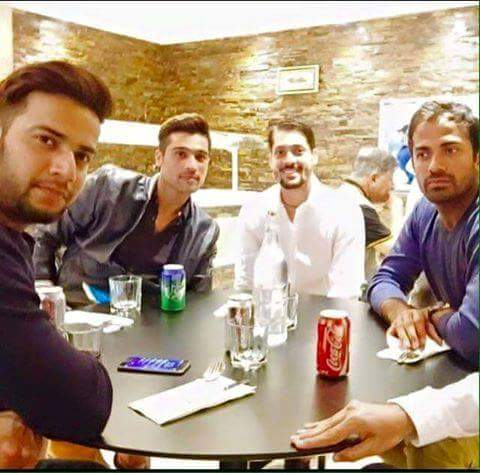 Pakistani Player in Local Resturant