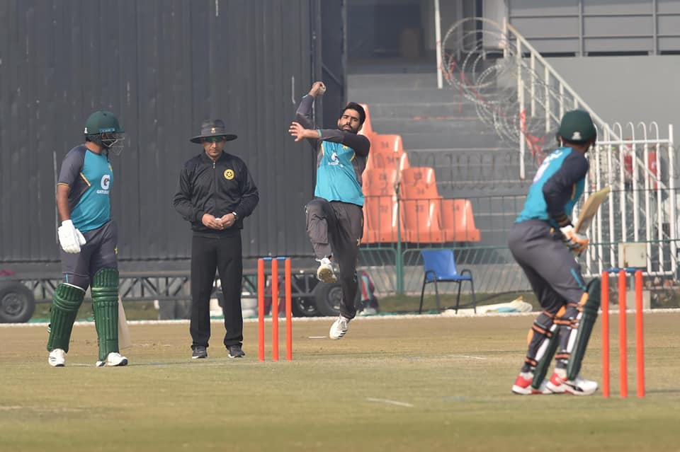 Pakistani Team Played Practice Match At Gaddafi Stadium, Lahore
