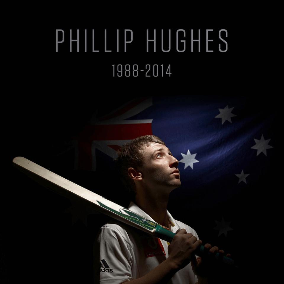 Phillip Hughes , Five Years Ago The Day On Which He Passed Away