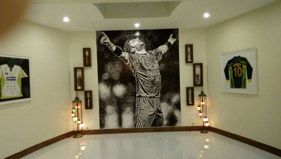 Picture From Shahid Afridi House