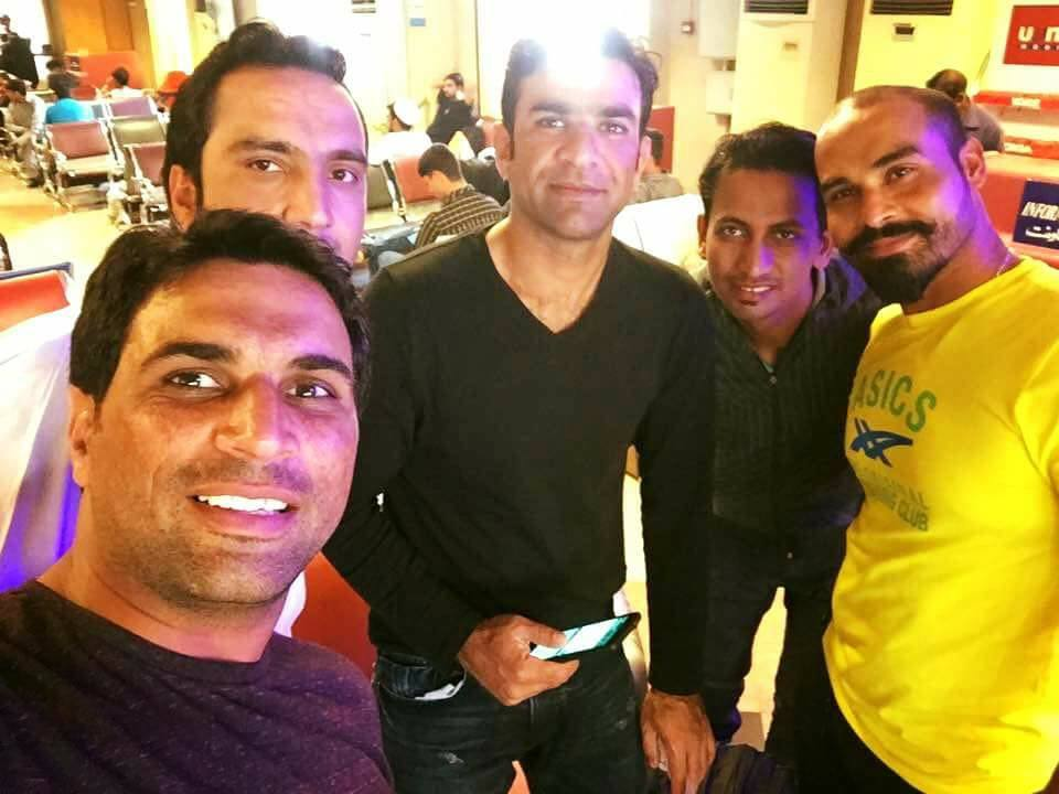 Picture Of Peshawar Zalmis Players