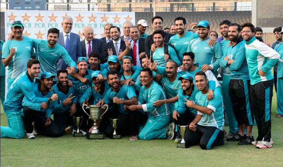 Players Of HBL After Winning The Final
