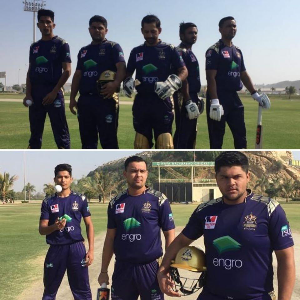 Quetta Gladiators Photoshoot In Naya Nazimabad Stadium, Karachi