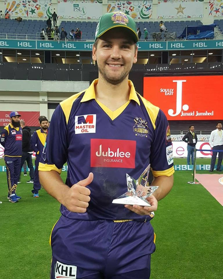 Quetta Gladiators Rile Roussow Is Now Highest Run Scorer In PSL