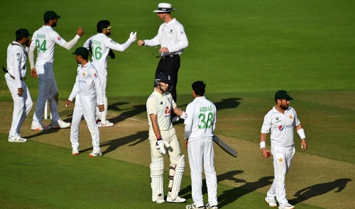 Rain Affected 2nd Test between Pakistan and England Ended In A Draw