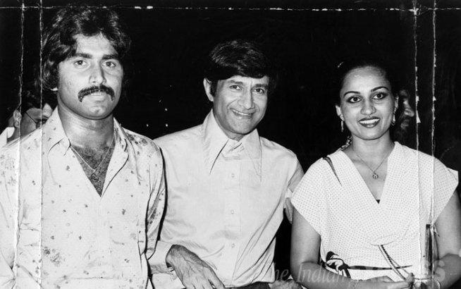 Rare pics of Dev Anand Miandad & Reena Roy
