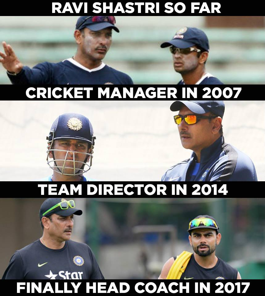 Ravi Shastri So Far