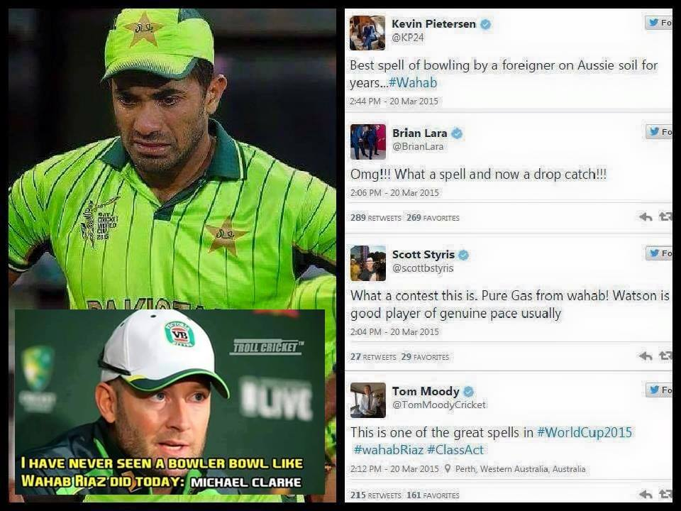 Respect For Wahab Riaz