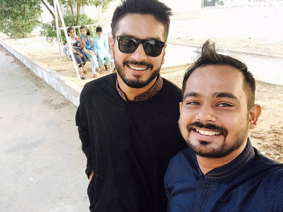 Rumman Raees On Eid Day