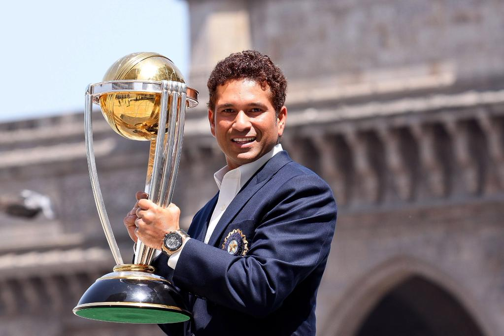 Sachin Tendulkar Announced As Cricket World Cup 2015 Ambassador