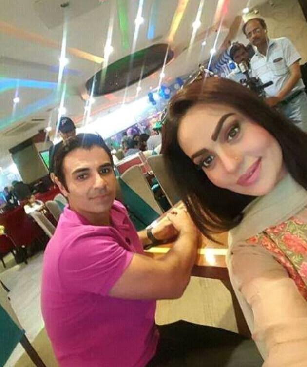 Sadia Imam With Cricketer Salman Butt
