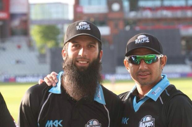 Saeed Ajmal And Moeen Ali