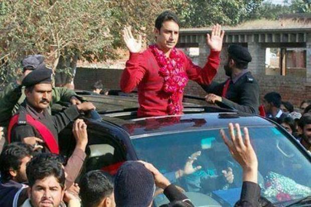 Saeed Ajmal Warm Welcome to Home Town