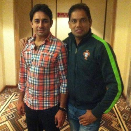 Saeed Ajmal With Zulfiqar Babar