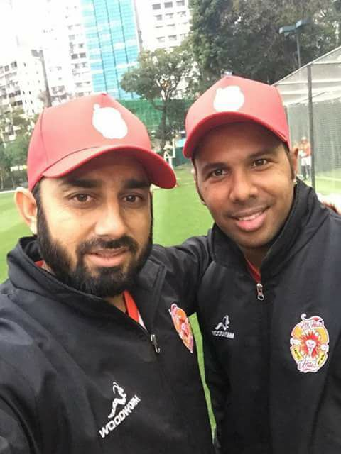 Saeed Ajmal & Samuel Badree Ahead Of The Hong Kong T20