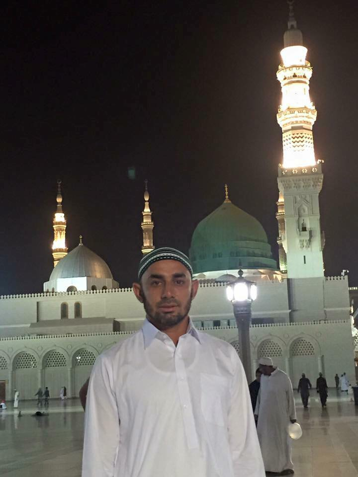 Saeed Ajmal in Madina Munawara