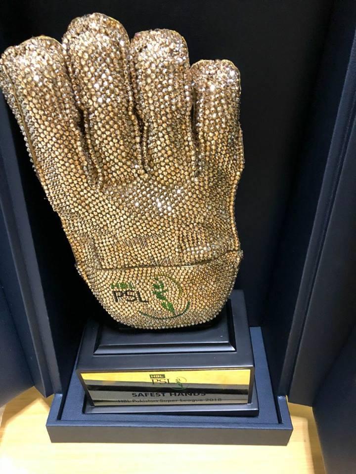 Safest Hand Award For PSL 3