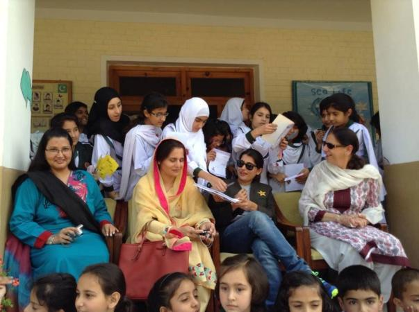 Sana Mir Visited Abbottabad Army Public School Sports Day
