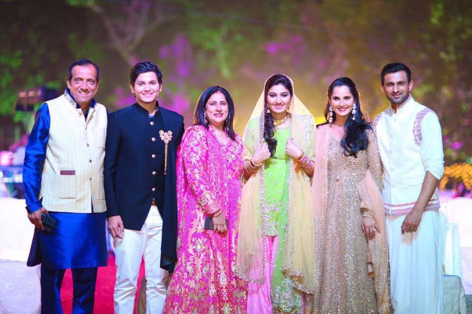 Sania Mirza And Shoaib Malik At Sania