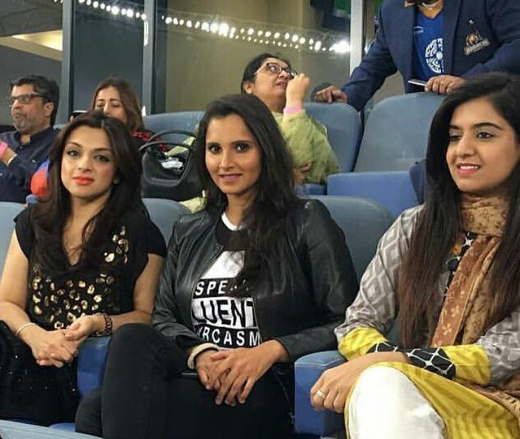 Sania Mirza In Dubai For PSL