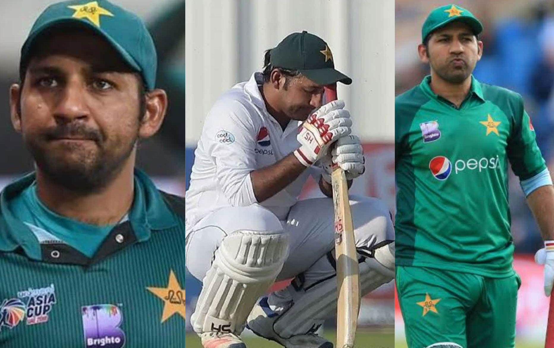 Sarfaraz Ahmed Removed As Captain Of All Three Formats