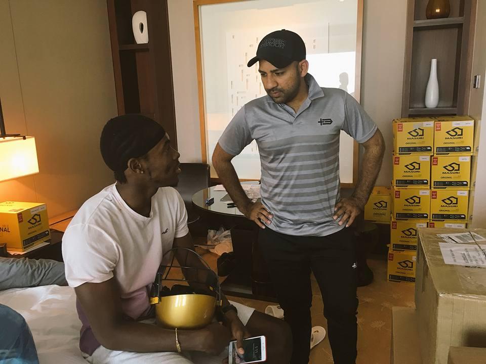 Sarfaraz Ahmed Welcomes Jofra Archer