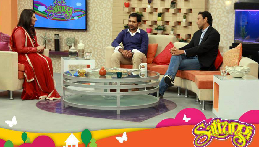 Sarfaraz And Younis In Morning Show Satrungi