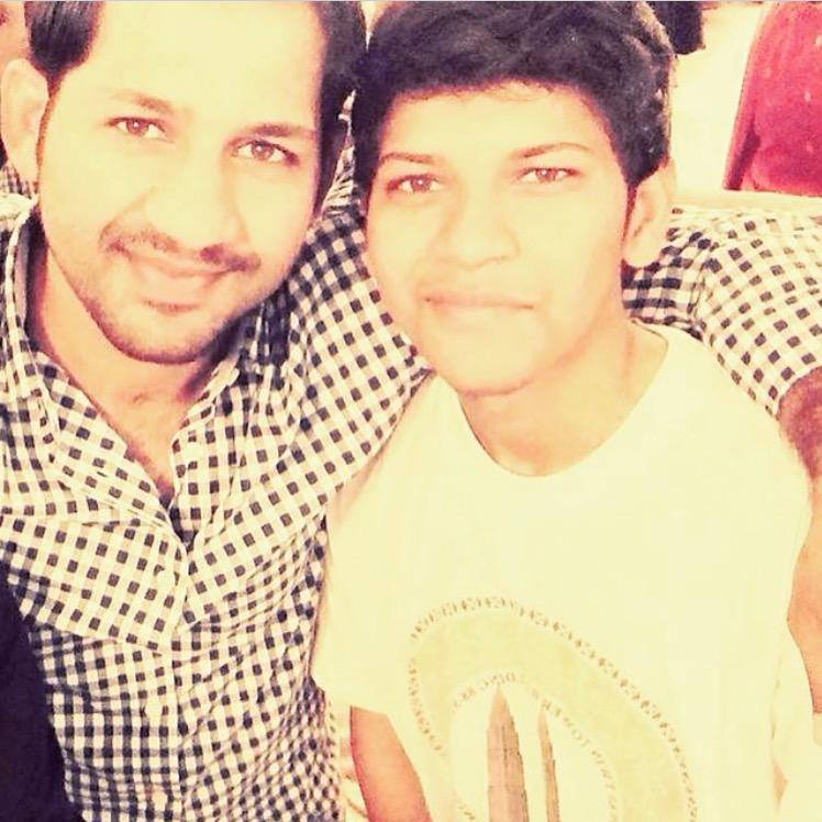 Sarfaraz With His Brother Abdul Rehman
