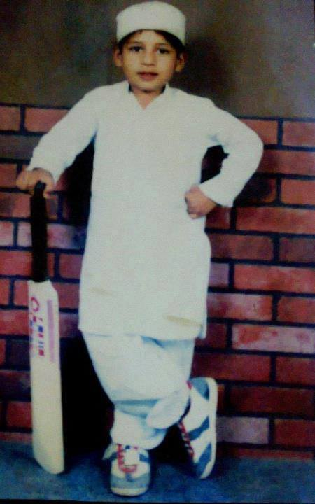 Sarfraz Ahmed Childhood Picture