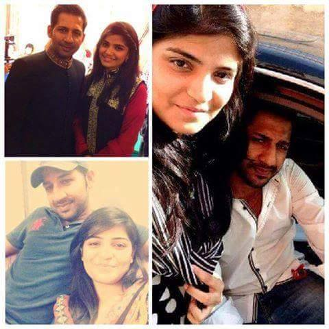 Sarfraz Ahmed With His Fiance